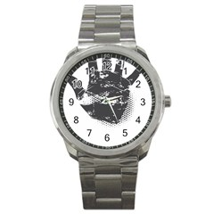 Tshirt Design 560 Sport Metal Watch