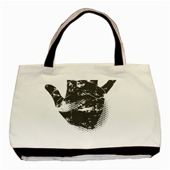 Tshirt Design 560 Twin-sided Black Tote Bag