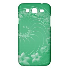 10   Light Green Flowers Samsung Galaxy Mega 5.8 I9152 Hardshell Case
