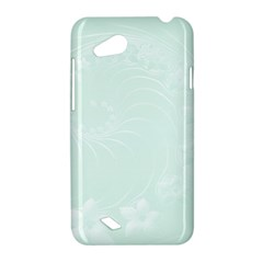 Pastel Green Abstract Flowers HTC T328D (Desire VC) Hardshell Case
