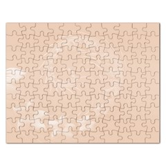 Pastel Brown Abstract Flowers Jigsaw Puzzle (rectangle)