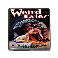 Weird Tales Volume 24 Number 03 September 1934 Memory Card Reader with Storage (Square)