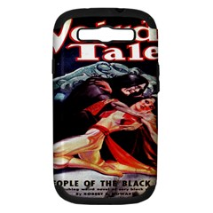 Weird Tales Volume 24 Number 03 September 1934 Samsung Galaxy S III Hardshell Case (PC+Silicone)