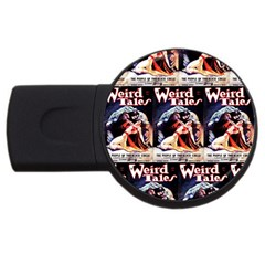Weird Tales Volume 24 Number 03 September 1934 1GB USB Flash Drive (Round)