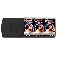 Weird Tales Volume 24 Number 03 September 1934 1GB USB Flash Drive (Rectangle)