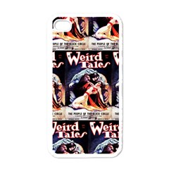 Weird Tales Volume 24 Number 03 September 1934 Apple iPhone 4 Case (White)