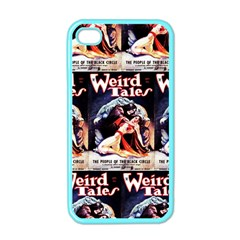 Weird Tales Volume 24 Number 03 September 1934 Apple iPhone 4 Case (Color)