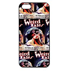 Weird Tales Volume 24 Number 03 September 1934 Apple iPhone 5 Seamless Case (Black)