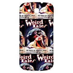 Weird Tales Volume 24 Number 03 September 1934 Samsung Galaxy S3 S III Classic Hardshell Back Case