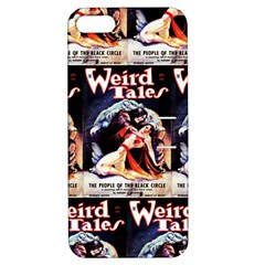 Weird Tales Volume 24 Number 03 September 1934 Apple iPhone 5 Hardshell Case with Stand