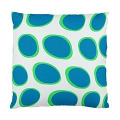 Retrosphere Bluegreenonwhite Cushion Case (Two Sides)