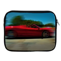 Fast Red Car Apple Ipad 2/3/4 Zipper Case