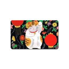 Maneki Neko Magnet (name Card)