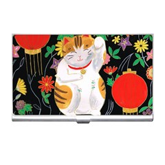 Maneki Neko Business Card Holder