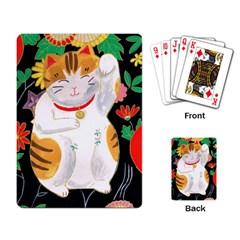 Maneki Neko Playing Cards Single Design