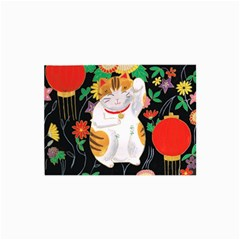 Maneki Neko Canvas 20  x 30  (Unframed)