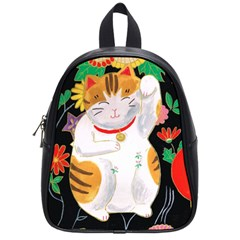 Maneki Neko School Bag (Small)