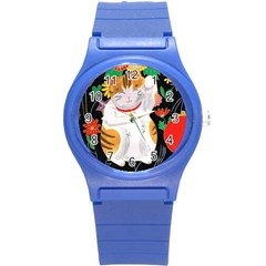 Maneki Neko Plastic Sport Watch (small)