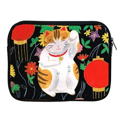 Maneki Neko Apple iPad 2/3/4 Zipper Case