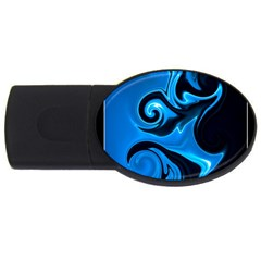 L2 1GB USB Flash Drive (Oval)