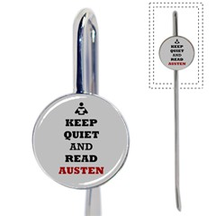 Keep Quiet and Read Austen Bookmark