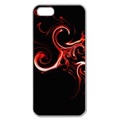 L47 Apple Seamless iPhone 5 Case (Clear)