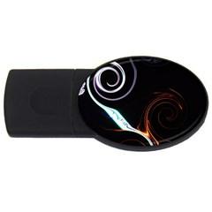 L46 2GB USB Flash Drive (Oval)