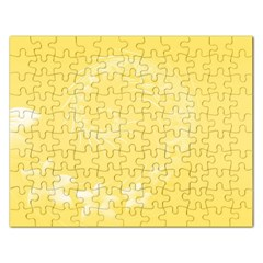 Yellow Abstract Flowers Jigsaw Puzzle (Rectangle)
