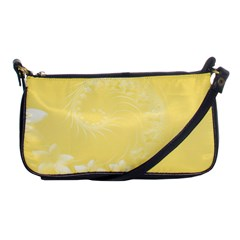 Yellow Abstract Flowers Evening Bag