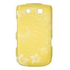 Yellow Abstract Flowers BlackBerry Torch 9800 9810 Hardshell Case