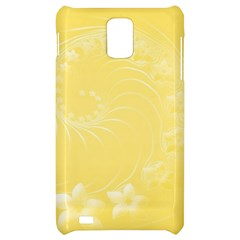 Yellow Abstract Flowers Samsung Infuse 4G Hardshell Case