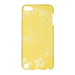 Yellow Abstract Flowers Apple iPod Touch 5 Hardshell Case