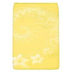Yellow Abstract Flowers Removable Flap Cover (Small)