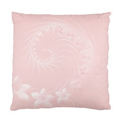 Light Pink Abstract Flowers Cushion Case (one Side)