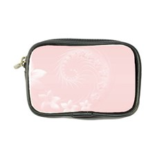 Light Pink Abstract Flowers Coin Purse