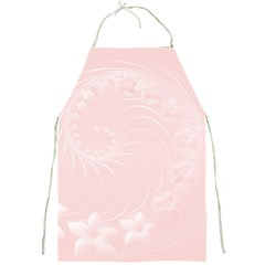 Light Pink Abstract Flowers Apron