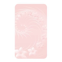 Light Pink Abstract Flowers Memory Card Reader (Rectangular)