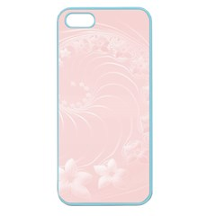 Light Pink Abstract Flowers Apple Seamless iPhone 5 Case (Color)