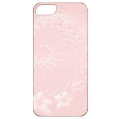 Light Pink Abstract Flowers Apple iPhone 5 Classic Hardshell Case
