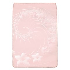 Light Pink Abstract Flowers Removable Flap Cover (Large)