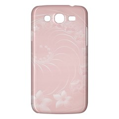 Light Pink Abstract Flowers Samsung Galaxy Mega 5.8 I9152 Hardshell Case