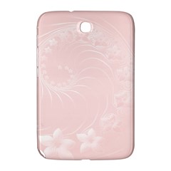 Light Pink Abstract Flowers Samsung Galaxy Note 8.0 N5100 Hardshell Case