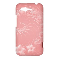 Pink Abstract Flowers HTC Rhyme Hardshell Case
