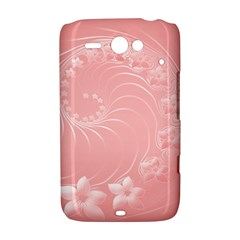 Pink Abstract Flowers HTC ChaCha / HTC Status Hardshell Case