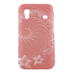 Pink Abstract Flowers Samsung Galaxy Ace S5830 Hardshell Case