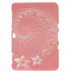 Pink Abstract Flowers Samsung Galaxy Tab 8.9  P7300 Hardshell Case
