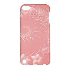 Pink Abstract Flowers Apple Ipod Touch 5 Hardshell Case