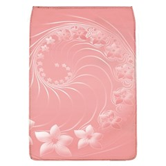 Pink Abstract Flowers Removable Flap Cover (Large)