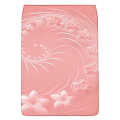 Pink Abstract Flowers Removable Flap Cover (Small)