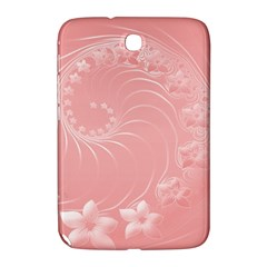 Pink Abstract Flowers Samsung Galaxy Note 8.0 N5100 Hardshell Case
